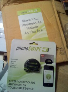 Free Phone Swipe Device - Accept credit cards with your smart phone.