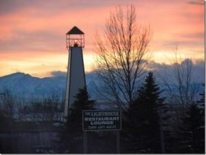 The Lighthouse Restaurant  - Valier, Montana